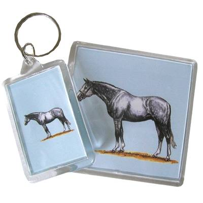 Acrylic Key Ring - Warmblood