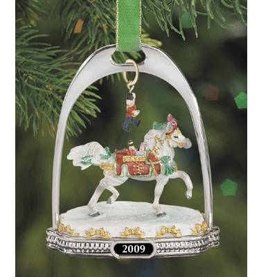 Breyer Nutcracker Prince 2009 Stirrup Ornament