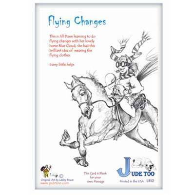 Flying Changes Greeting Card - Pack of 6