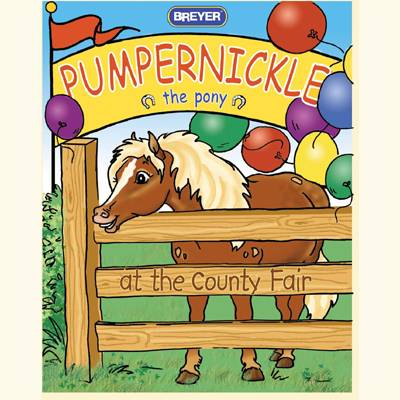 Breyer Pumpernickle Goes to the Fair Coloring Book