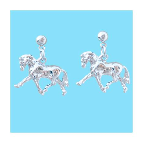 Dressage Horse Earrings