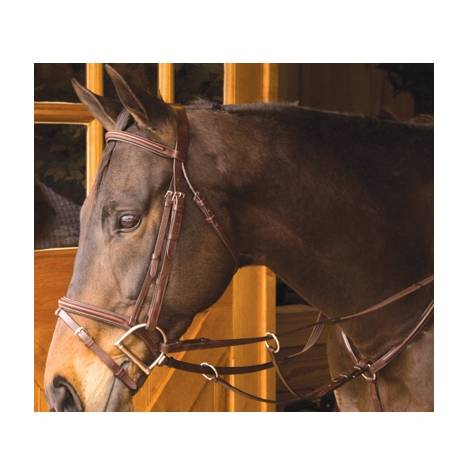 Exselle Elite Plain Raised Running Breastplate