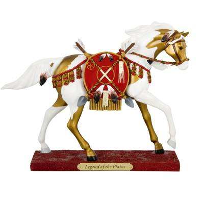 The Trail Of Painted Ponies - Legend of the Plains Figurine