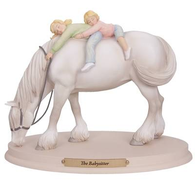 Horse Whispers The Babysitter Figurine