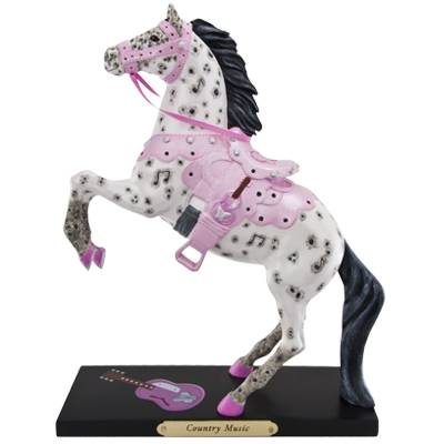 The Trail Of Painted Ponies - Country Music Figurine