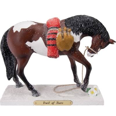 The Trail Of Painted Ponies - Trail of Tears Figurine