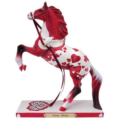 The Trail Of Painted Ponies - Lovey Dovey Figurine