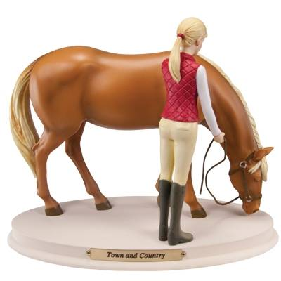 Horse Whispers Town and Country Figurine