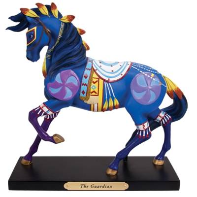 The Trail Of Painted Ponies - The Guardian Figurine