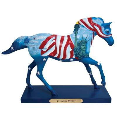 The Trail Of Painted Ponies - Freedom Reigns Figurine