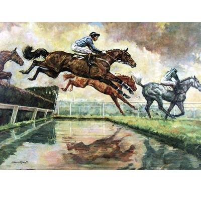 The Water Jump (Horse Racing) - 6 pack