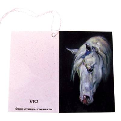 Gift Tags with String - Horse Head