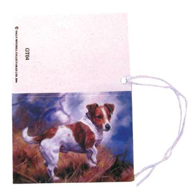 Gift Tags with String - Jack Russell