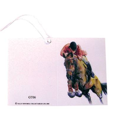 Gift Tags with String - Sport Horse