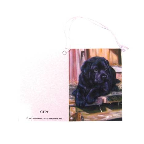 Gift Tags with String - Labrador