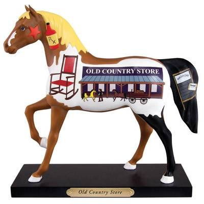 The Trail Of Painted Ponies - Old Country Store Figurine