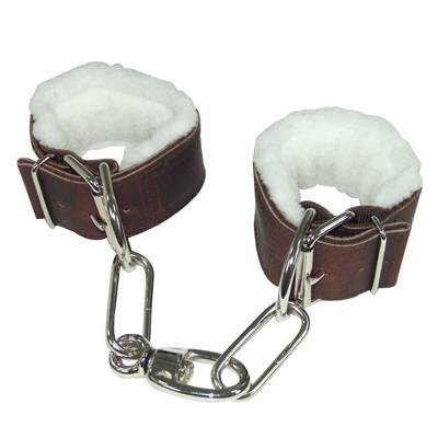 Fleece Lined Leather Hobbles