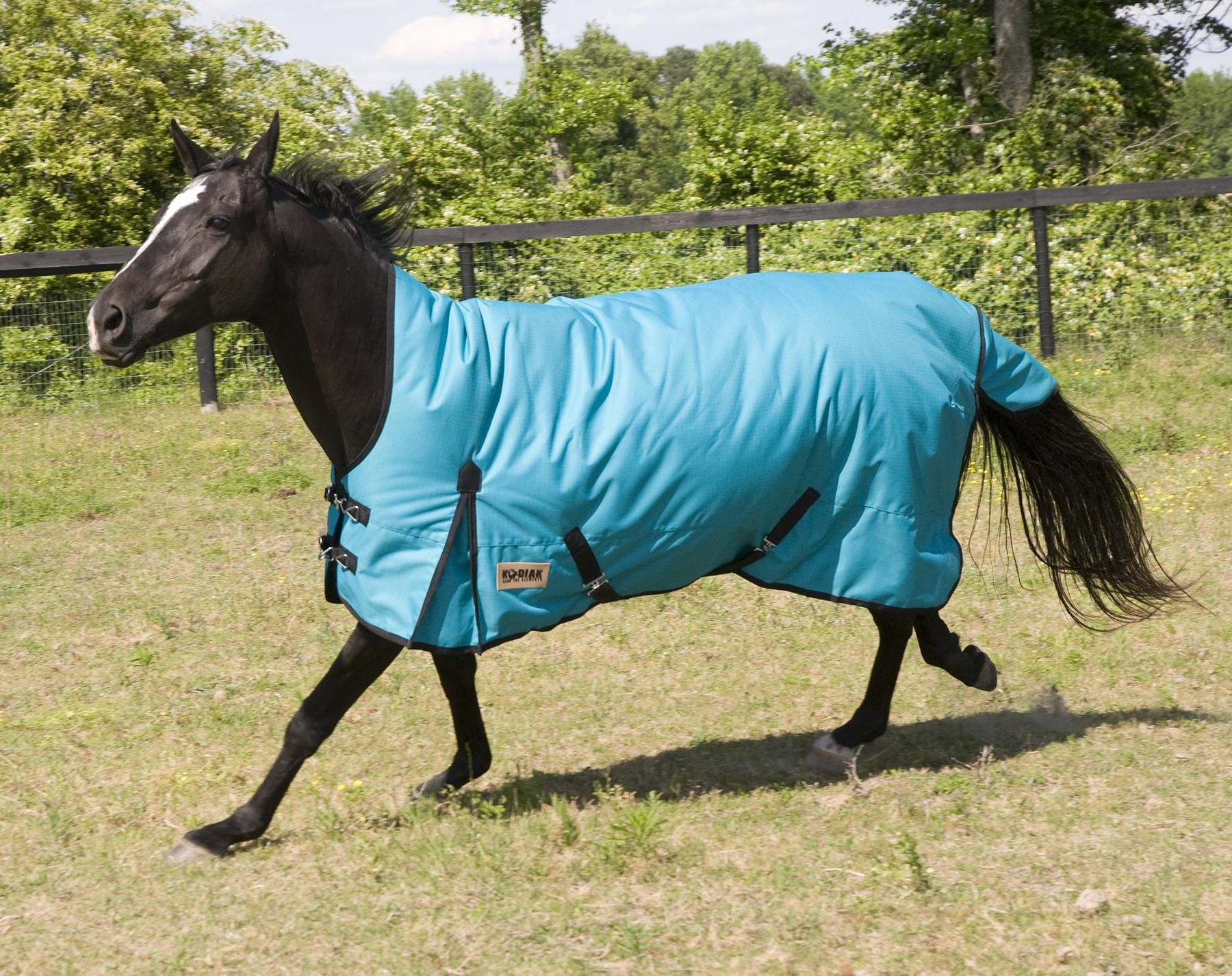 KODIAK 1200D HIGH-NECK Heavyweight Turnout Blanket