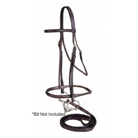 Equiroyal Raised Draft Horse Snaffle Bridle