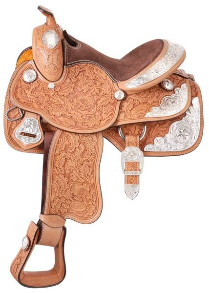 Silver Royal Silver Star Grandview Saddle Package