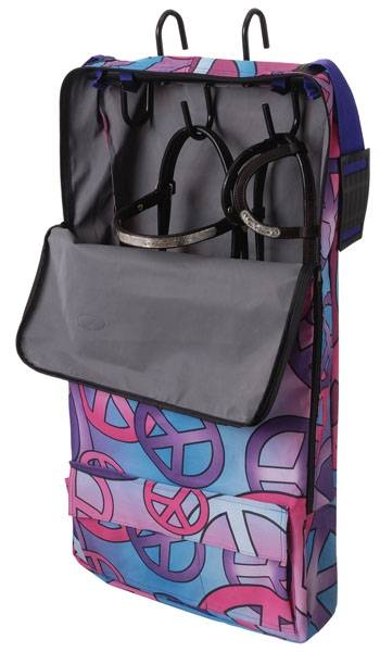 Tough-1 Halter/Bridle Bag - Candy Peace Print