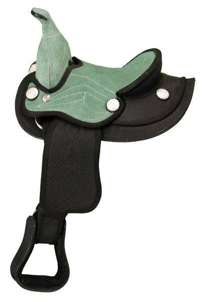 King Series Miniature Suede Seat Saddle Package