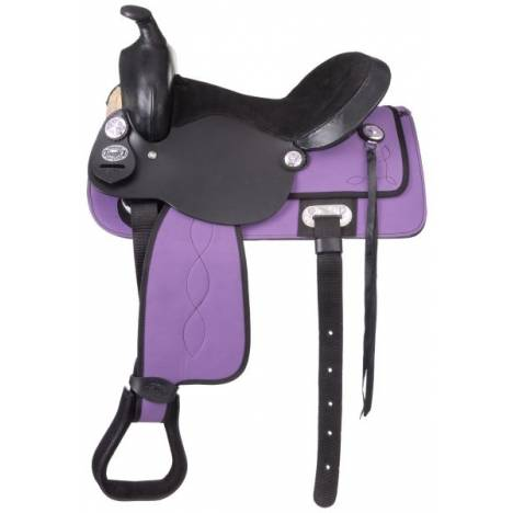 King Series Krypton Western Youth Saddle Package