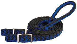 Braided Nylon Barrel Rein