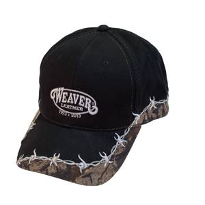 Weaver 40th Anniversary Black with Camo and Barbed Wire Trim Cap