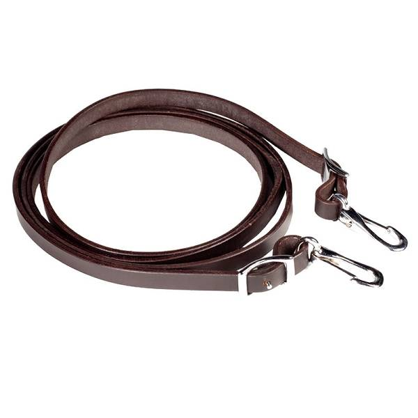 HorZe Vogar Leather Reins