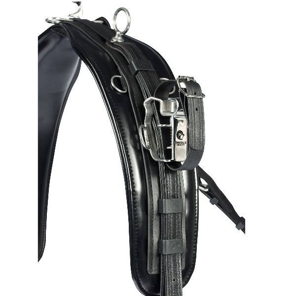 Finn Tack Synthetic QH Training Harness Pro Saddle