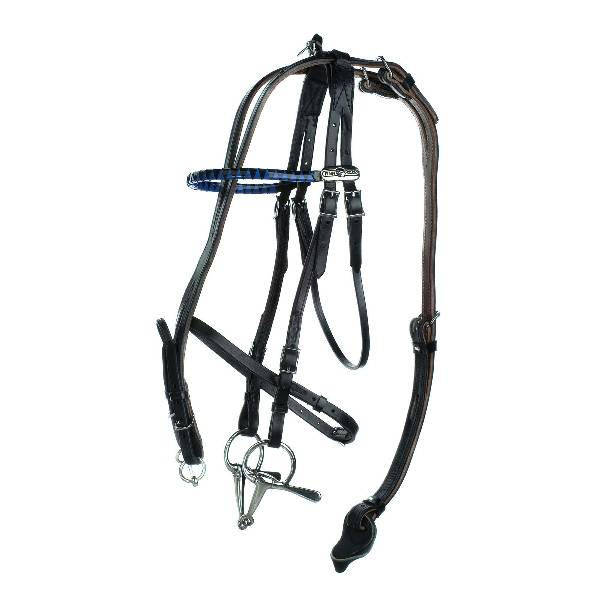 HorZe Open Bridle with out Check