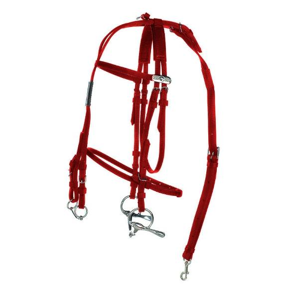 Finn Tack Synthetic Open Bridle