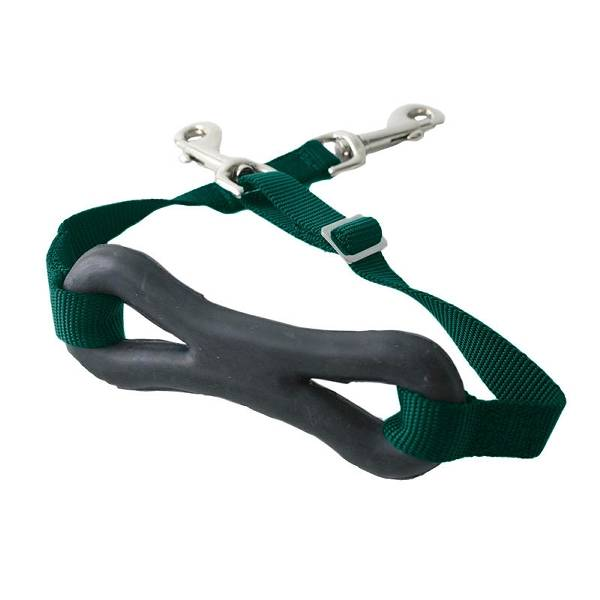HorZe Adjustable Nylon Martingale with Dogbone