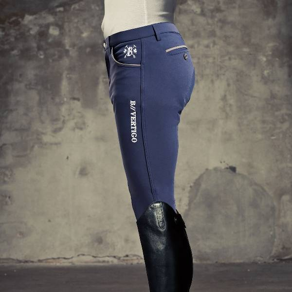 B Vertigo David Men's Pro-Active Full Seat Breeches