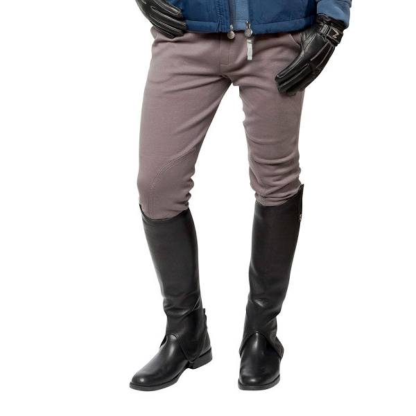 Horze Cotton Knitted Men's Self-Patch Breeches