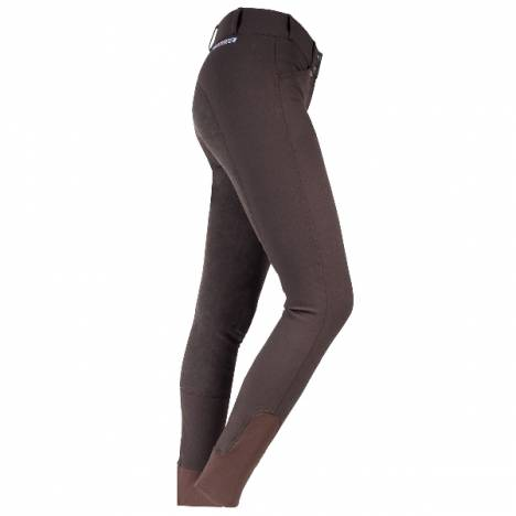 Horze Grand Prix Women's Extend Breeches with Leather Knee Patch