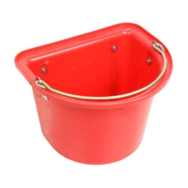 Flat Back Bucket with Hooks