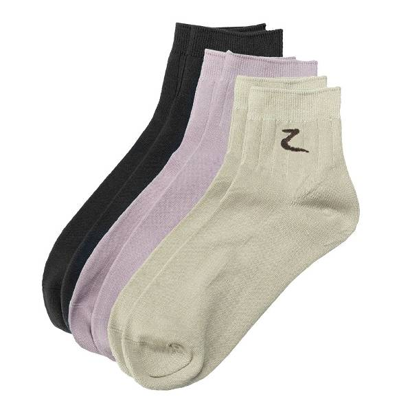 HorZe 3-Pack Ankle Socks (3 Pairs/Set)