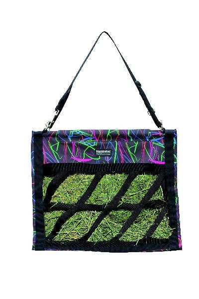 Equisential Top Load Hay Bag - Neon
