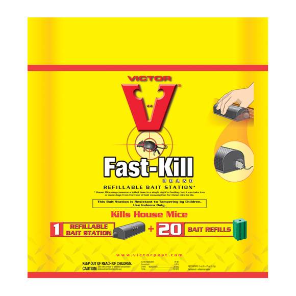 Victor Fast Kill Refillable Bait Station