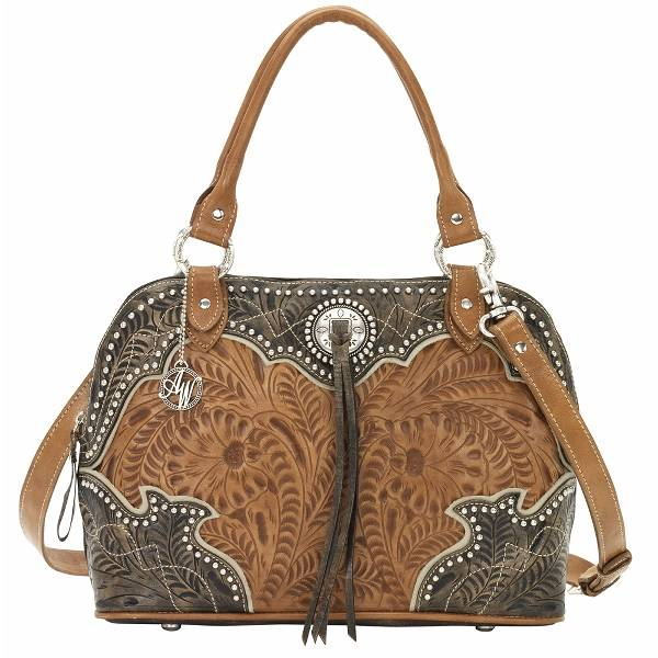 AMERICAN WEST Heart of Gold Satchel