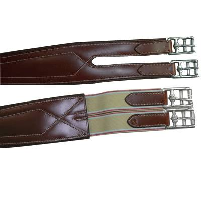Exselle Elite Overlay Padded Girth