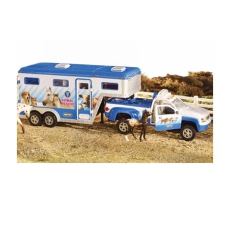 Breyer Stablemates Animal Rescue Truck & Trailer