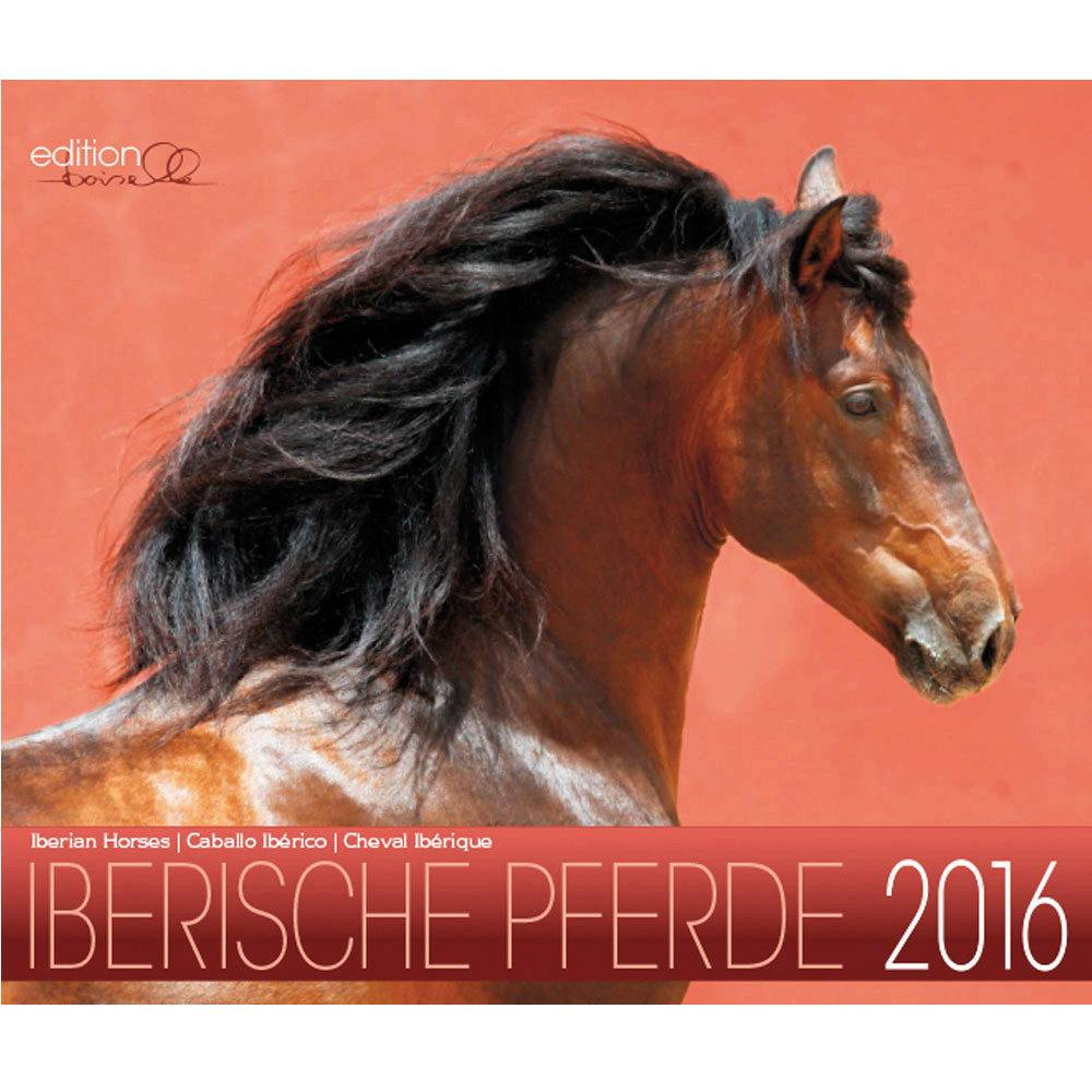 Gabriele Boiselle Andalusian Mid Sized 2014 Calendar