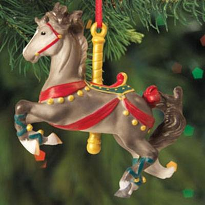 Melody 2012 Carousel Ornament