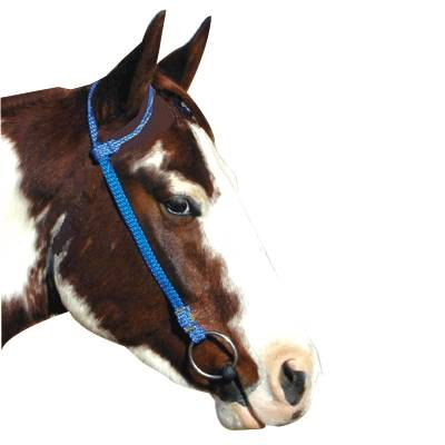 Premium Nylon One Ear Headstall Hunter/Hunter