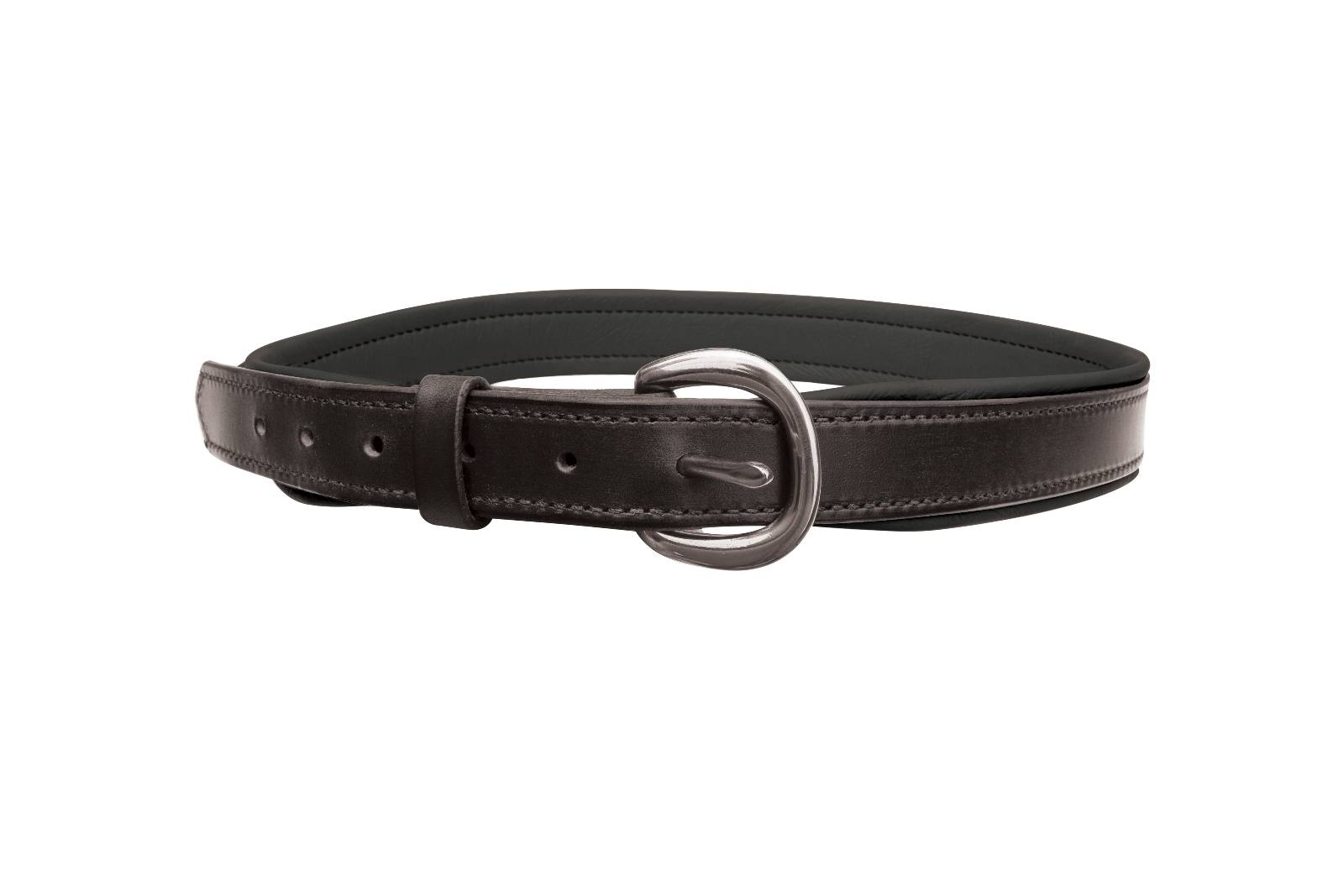 Perri's Wide Padded Leather Belt