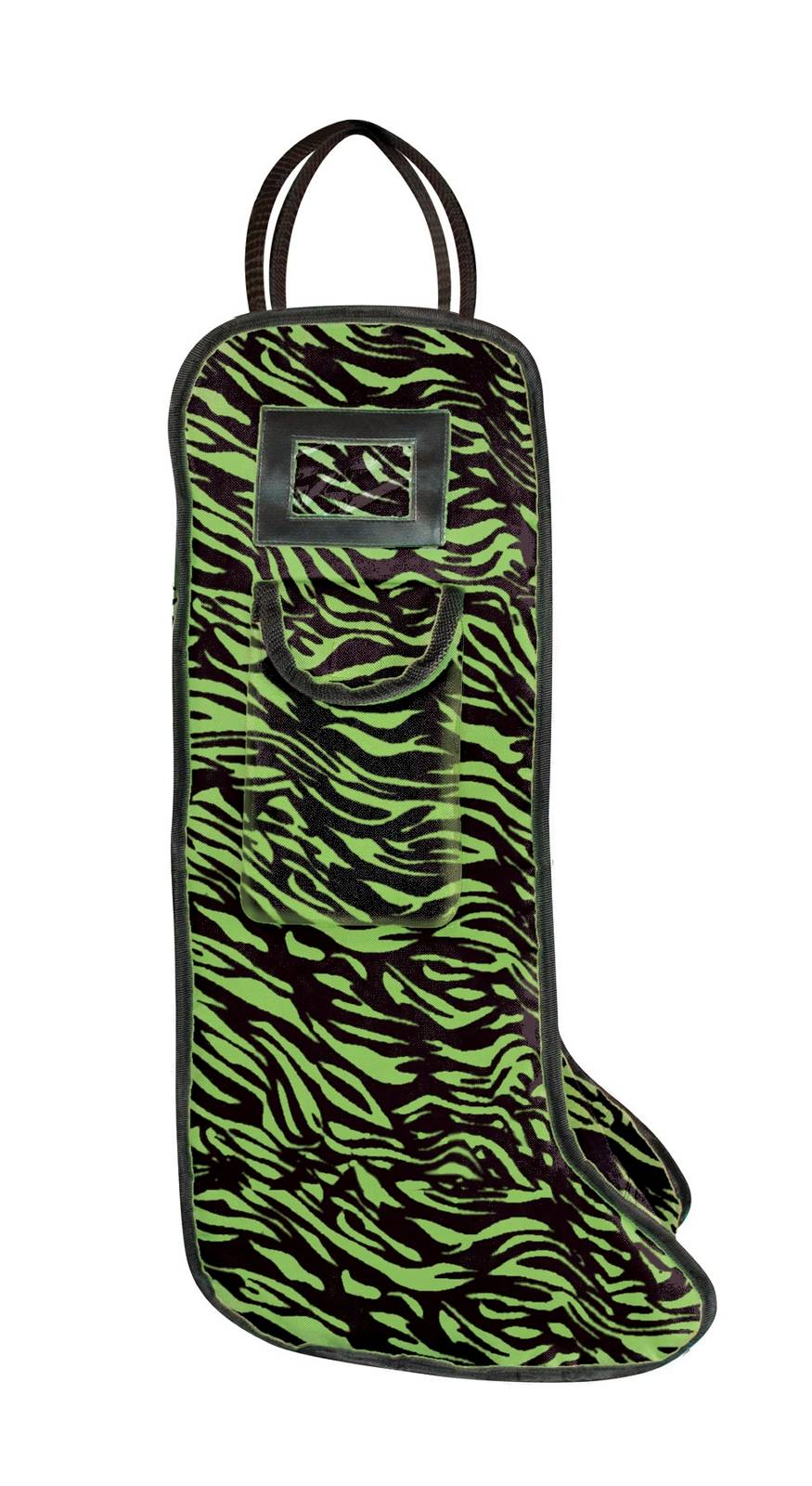 Perri's Zebra Cordura Boot Bag