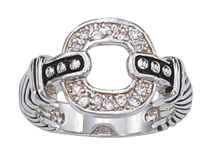 Montana Silversmiths Crystal Link Ring